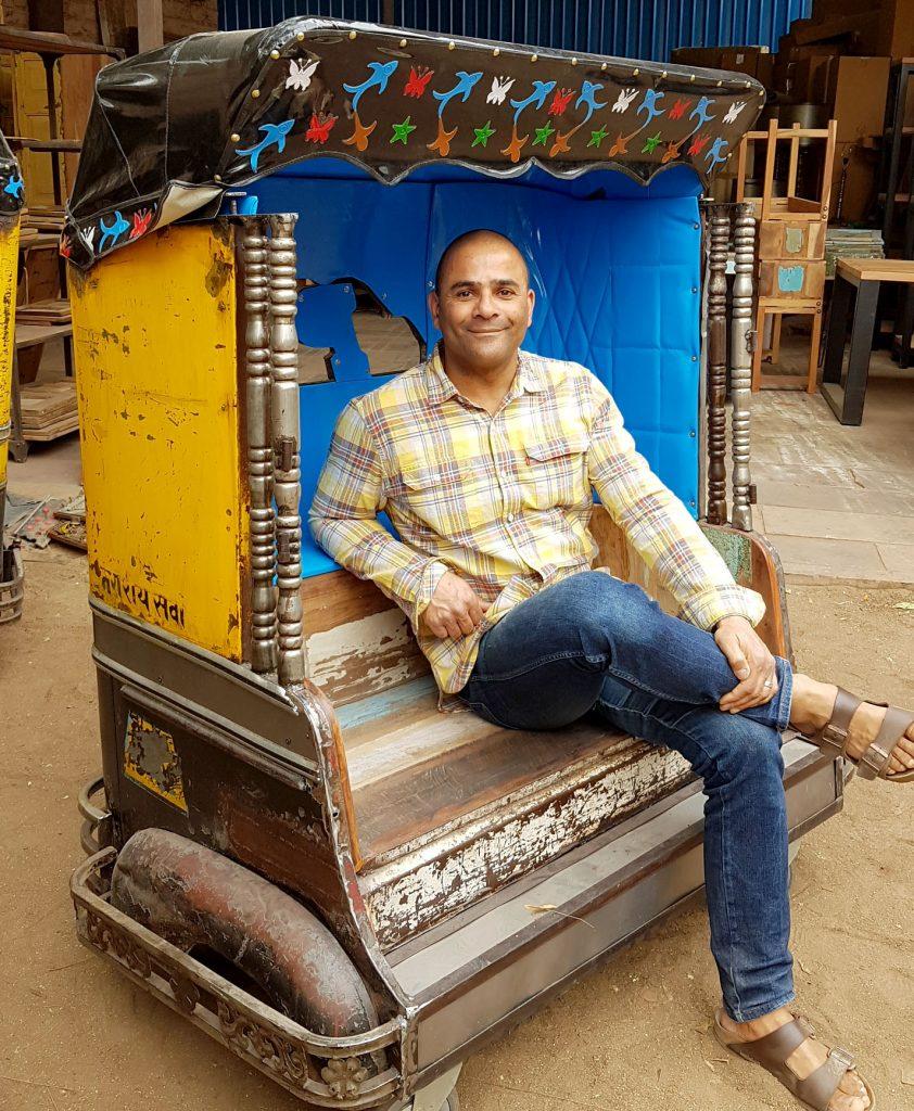 old rickshaw tuk tuk