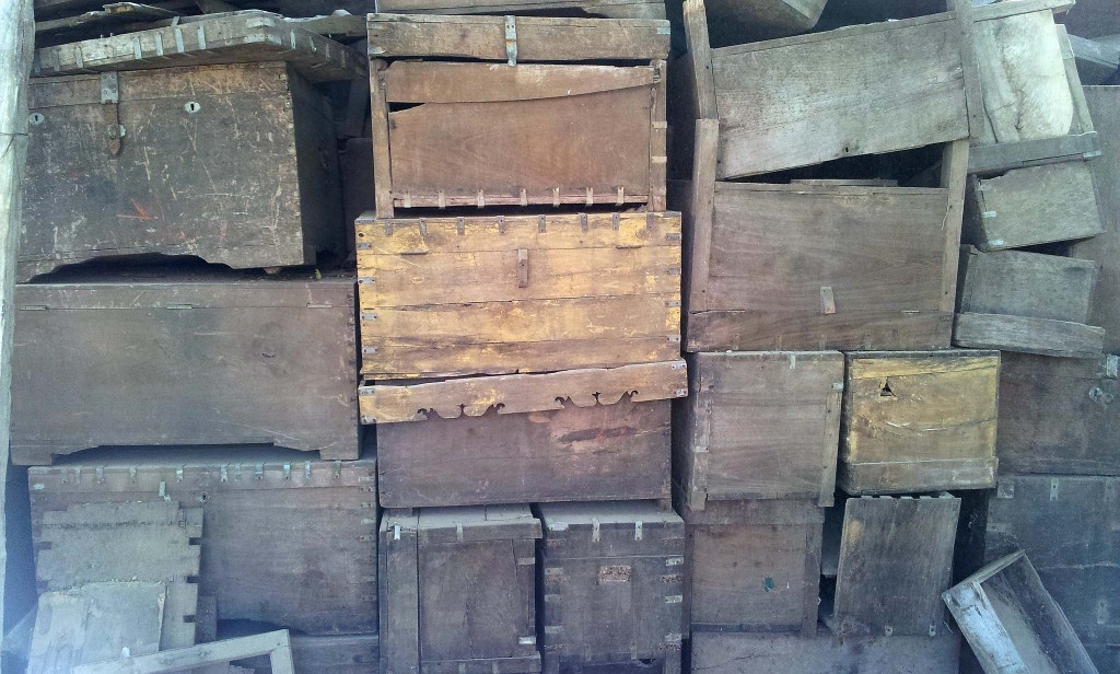 Old Wooden Trunks