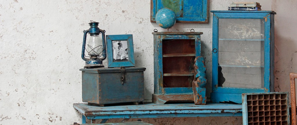 blue shabby chic furniture