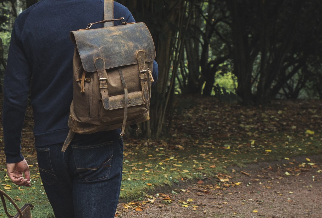 canvas backpack rucksack bag