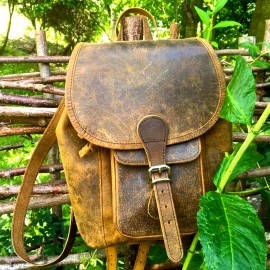 Scaramanga | Boho Mini Backpack In London