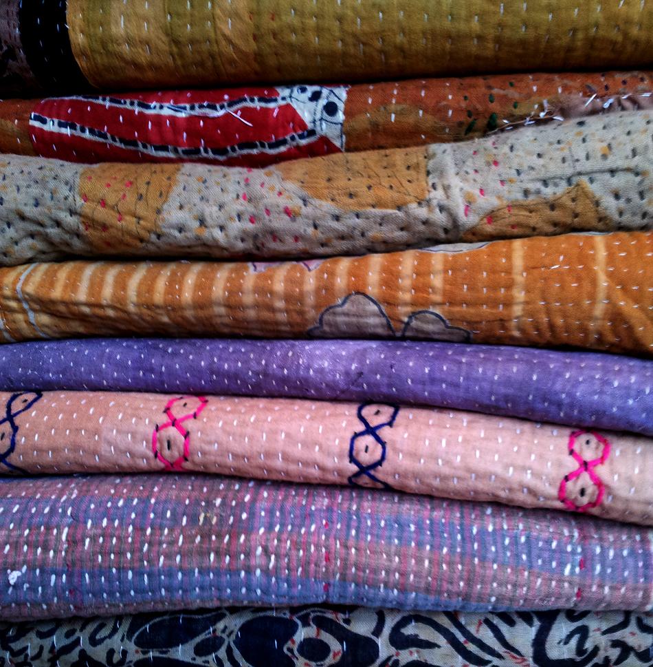 vintage kantha bedspreads