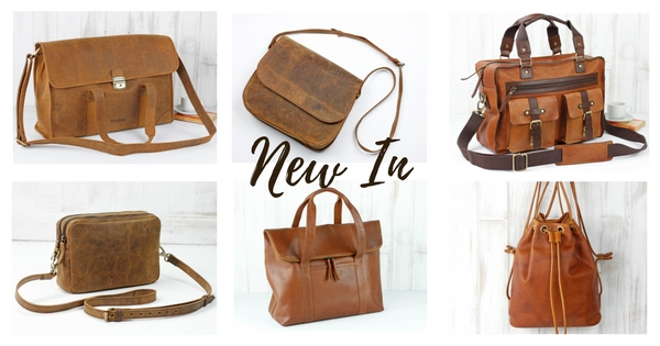 New In Leather bags