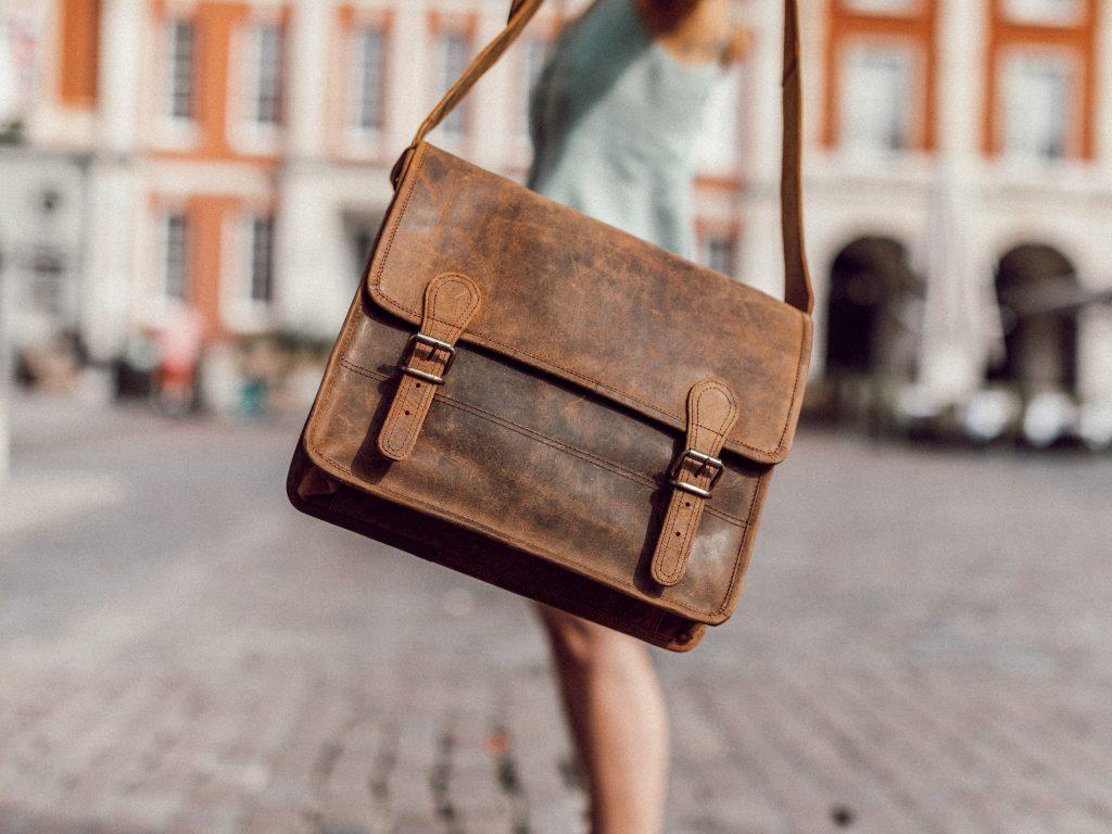women's leather satchel