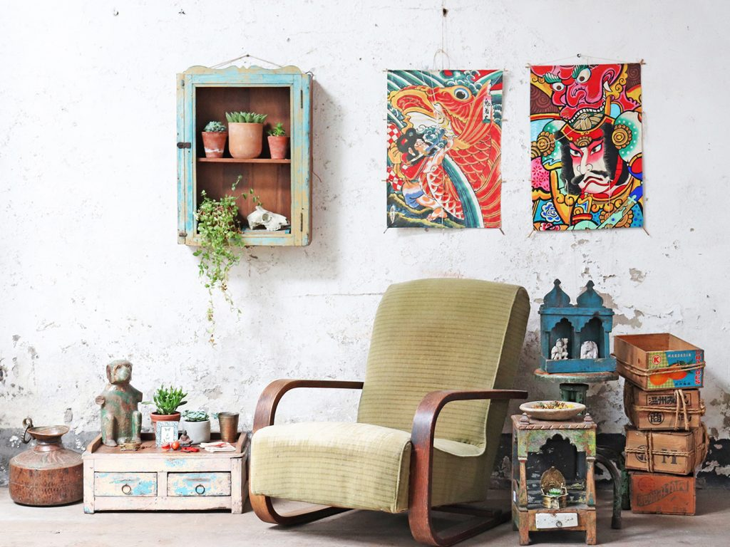 Global Nomad - Interior Design Style Trends 2019