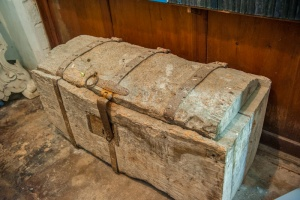 A dug out chest