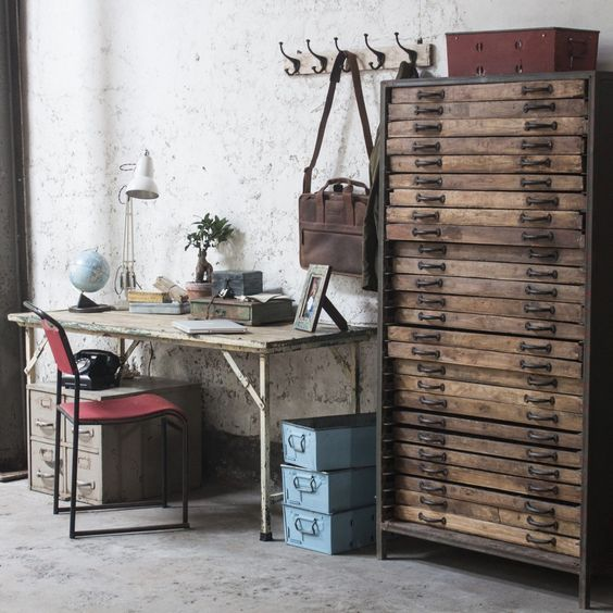 Furnitureinfashion Is Offering Very Affordable Arctic: Decorating Ideas: Vintage Printers Trays