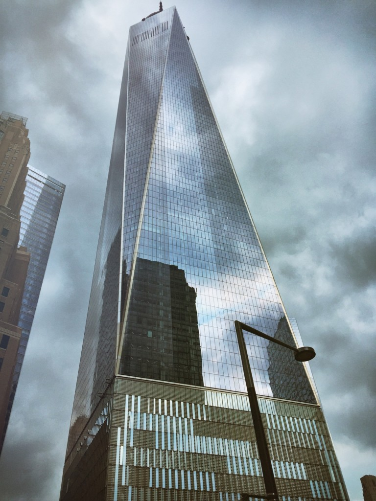 One World Trade Centre stand powerfully in Lower Manhattan