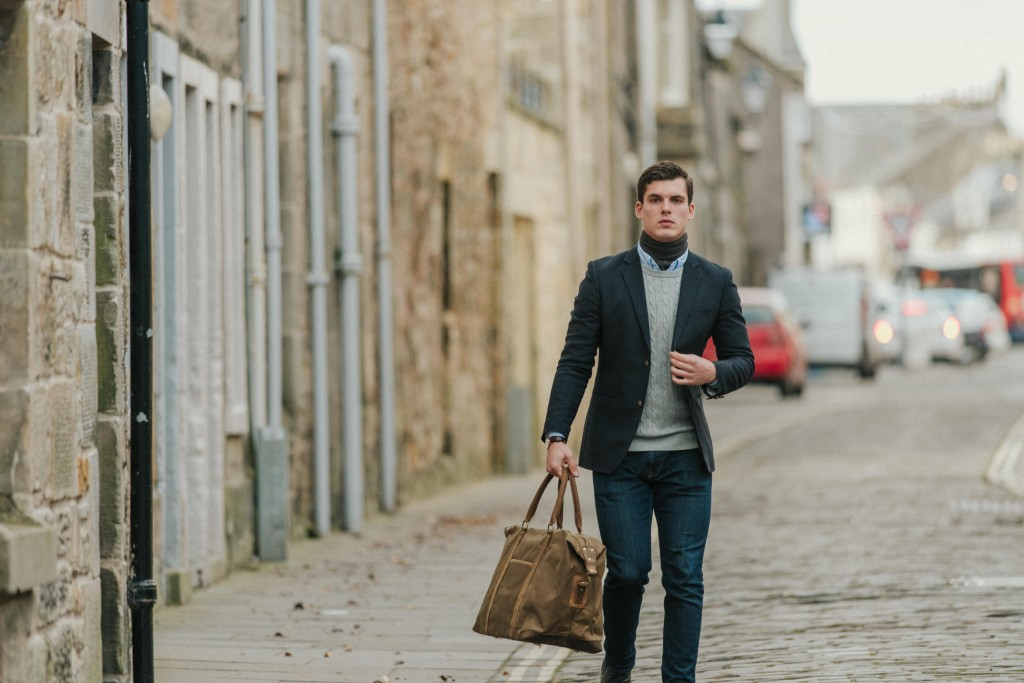mens leather bags by scaramanga