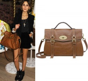 Mulberry Alexa VS. Scaramanga Leather Satchel Bag 84e123b2136ab
