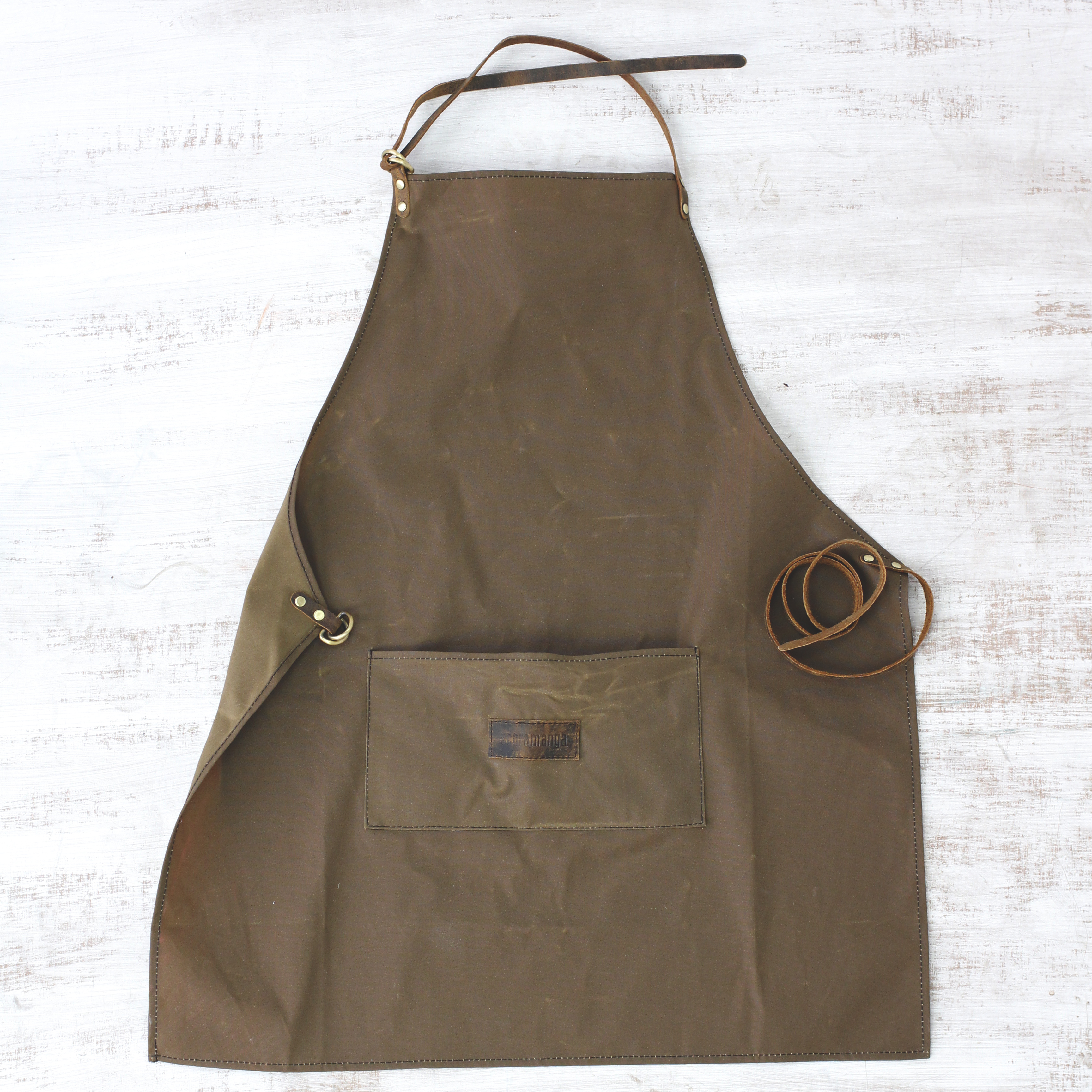 Beautiful Unbleached 100 Cotton School Apron For DTCraftWoodwork