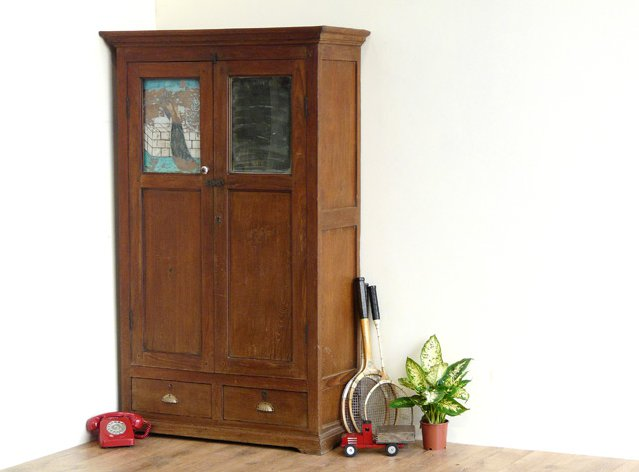 Vintage Colonial Armoire, £750