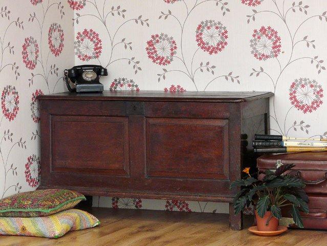 Antique Oak Coffer, £485
