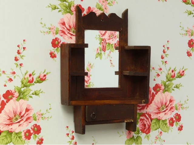 Small Wooden Mirror, £37.50