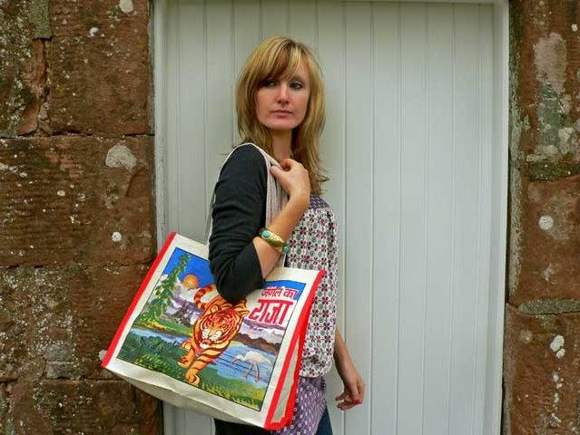 Tiger Canvas Bag, £4.50