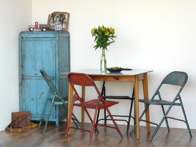 Vintage Metal Folding Chairs, £40