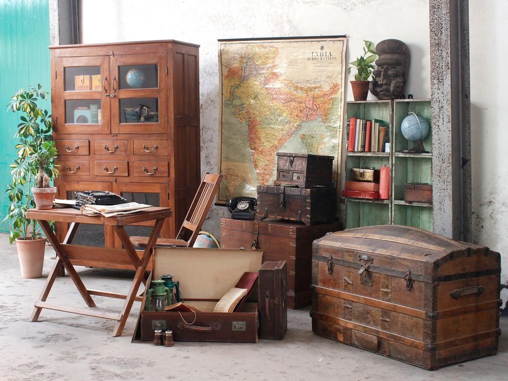 vintage furniture set design