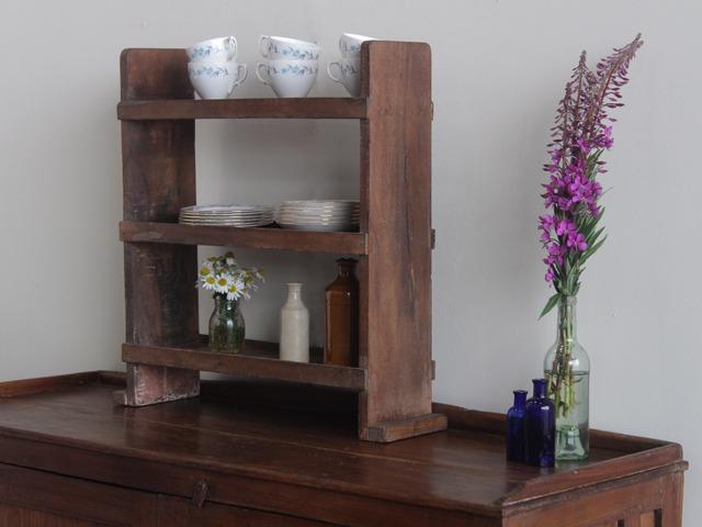 Old Wooden Shelves, £75