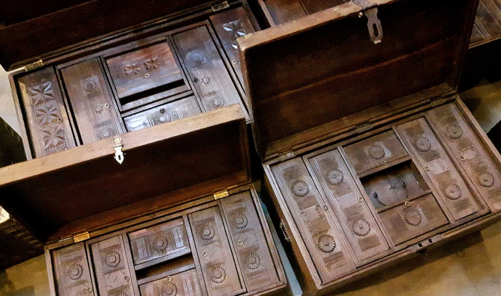 Anmtique wooden chests