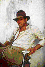 Indiana-Jones and his messenger bag