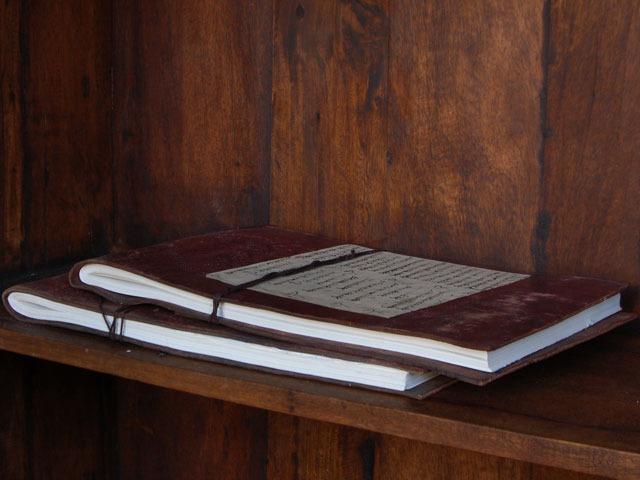 Antique Leather Sketchbook, £49