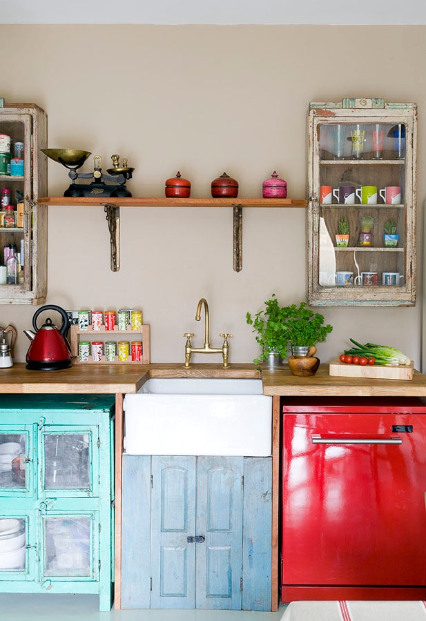 vintage kitchens with modern rustic retro inspiration scaramanga