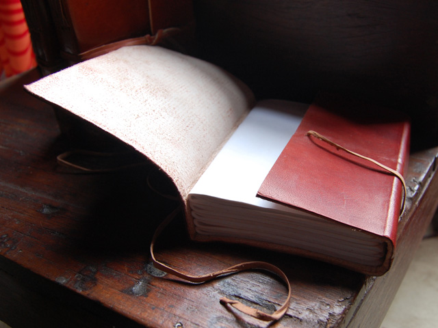 Large 120 Page Leather Journal £25