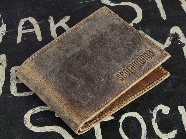 Men's Leather Wallet, £25