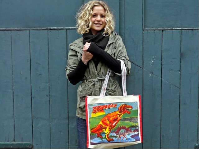 T-Rex Canvas Bag, £4.50