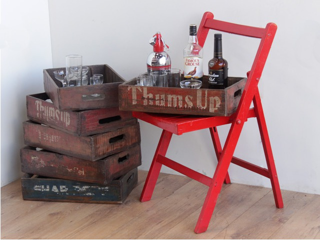 Vintage Bottle Crates, £37.50