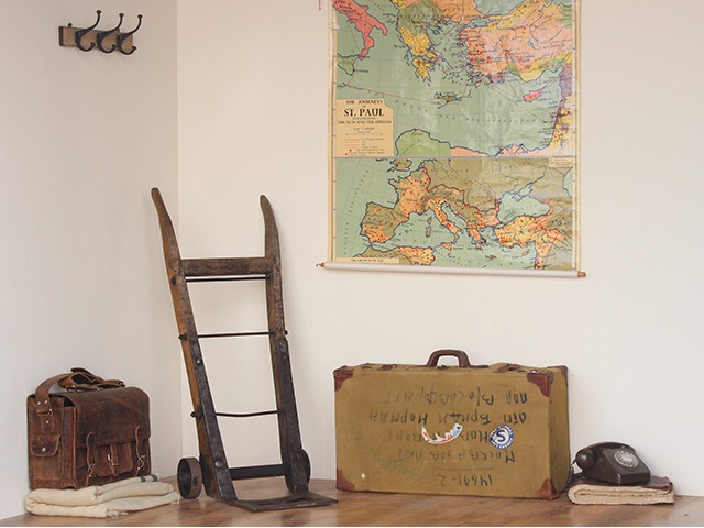 Vintage Military Service Suitcase, £65