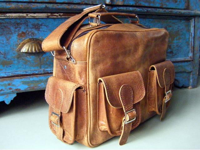 Large Vintage Flight Bag, £94.50