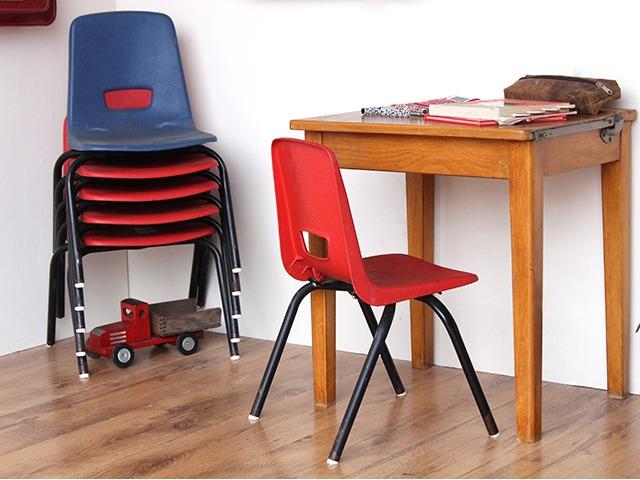Old School Plastic Children's Chairs, £20