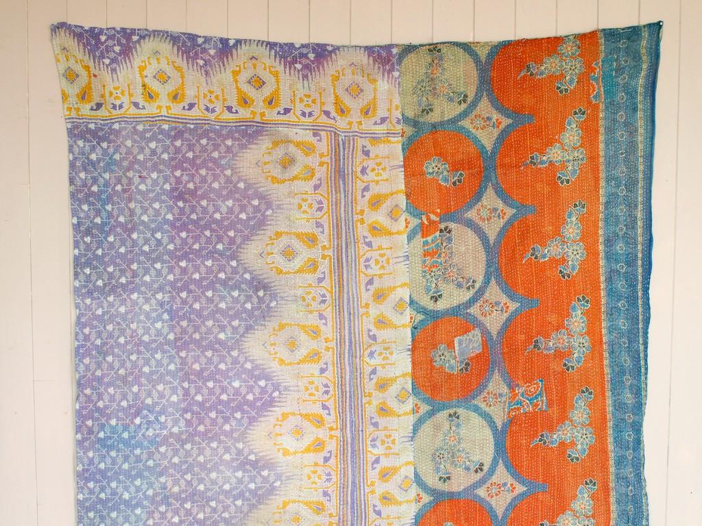 Vintage Kantha Quilts Available Now at Scaramanga Scaramanga