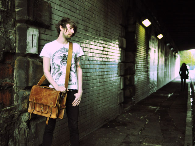 18 Inch Leather Satchel