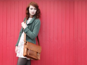 13 Inch Leather Netbook Satchel Bag £57.50
