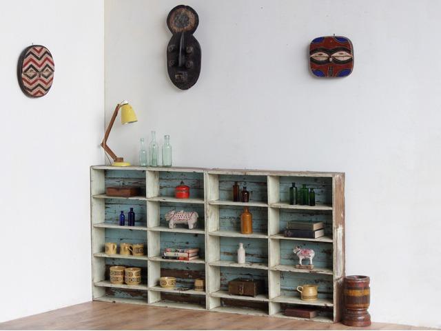 Vintage Pigeon-Hole Storage Unit, £550