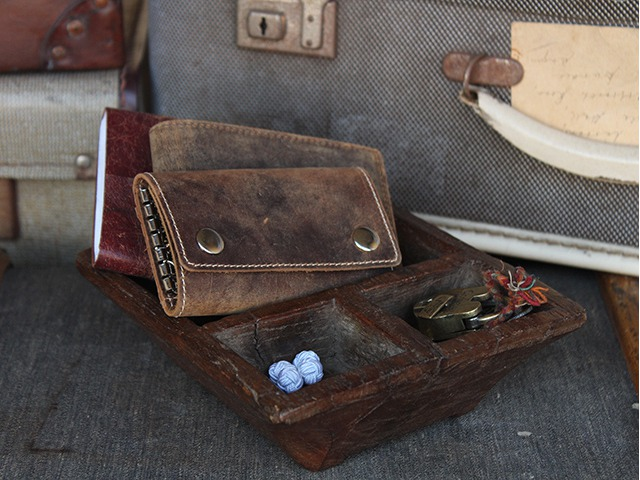 Men's Leather Gift Set, £43.50