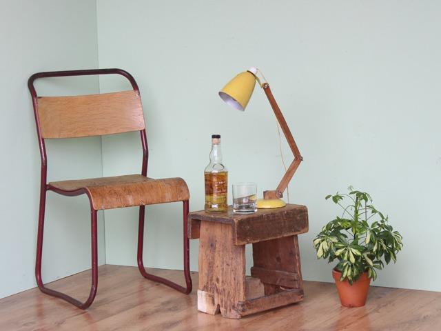 Vintage Wooden Stool, £35