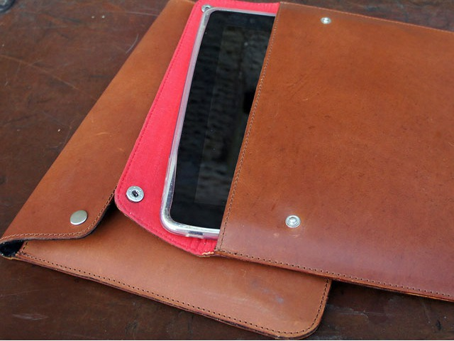 Leather iPad Cover, £35