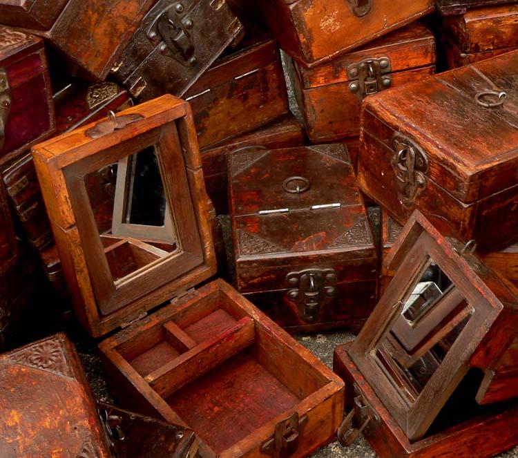 vintage treasure chests