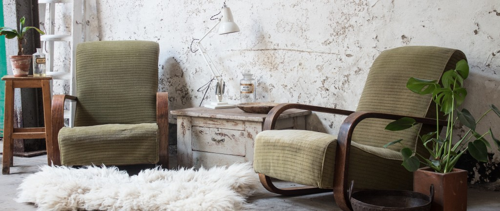 vintage scandinavian style furniture