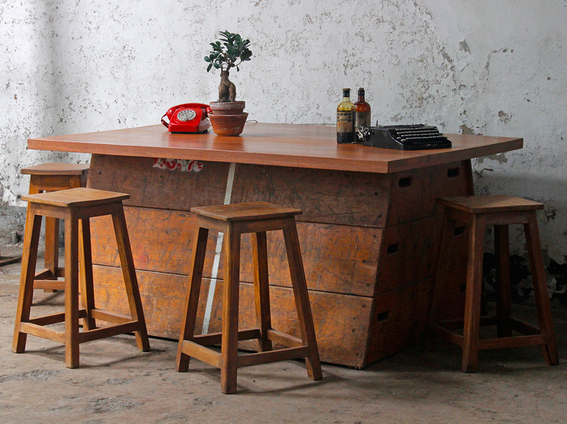 Upcycled Vintage vaulting horse table