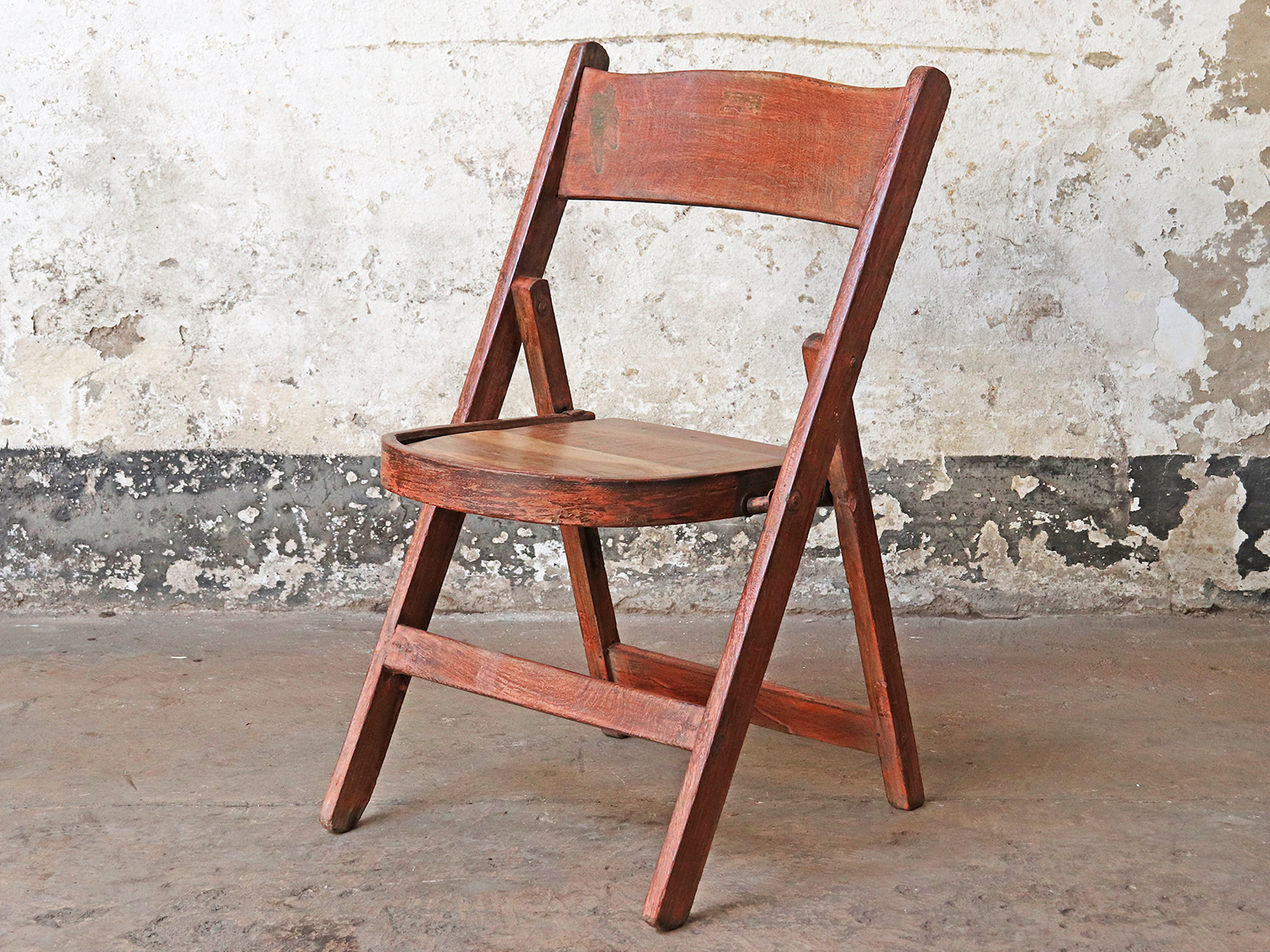 Wooden Folding chairs suitable for outside seating