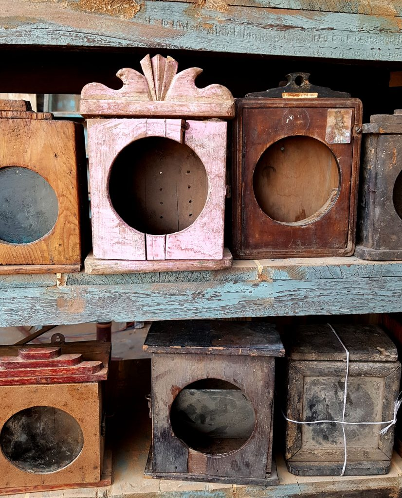 Small vintage cabinets