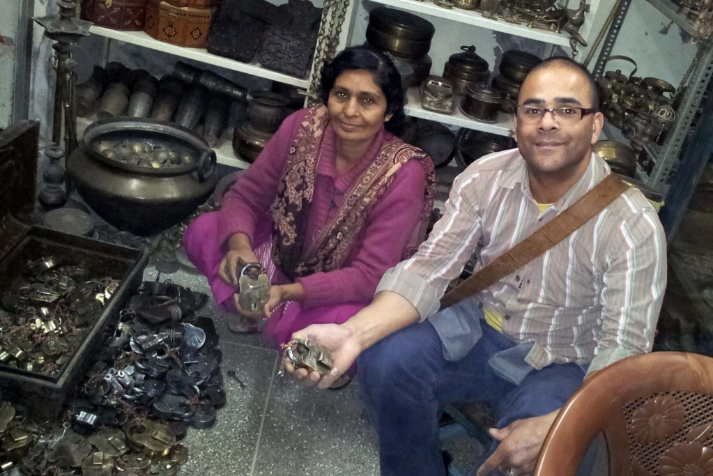 With our antique supplier choosing old padlocks