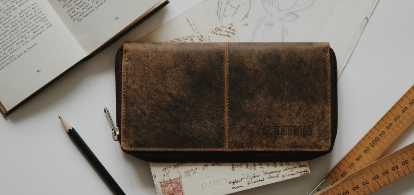 Scaramanga Leather Accessories + Photographer @supposedformer