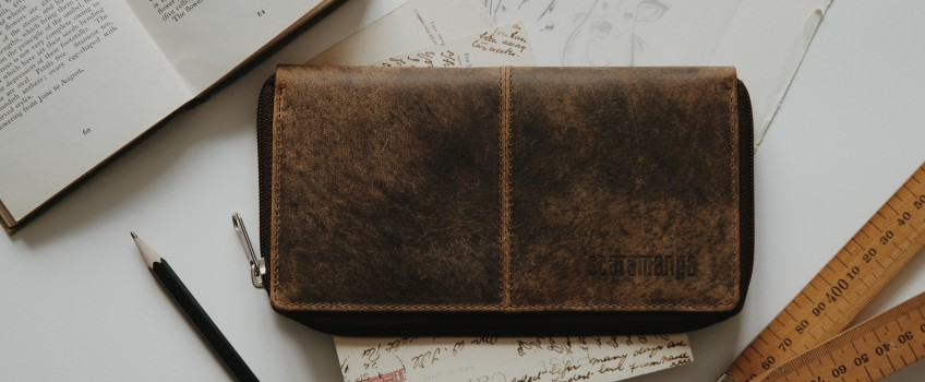Scaramanga Leather Accessories + Photographer @supposedformer