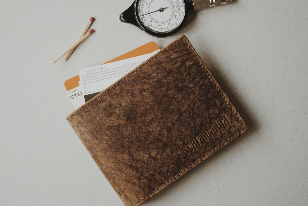 Scaramanga Men's Leather Wallet