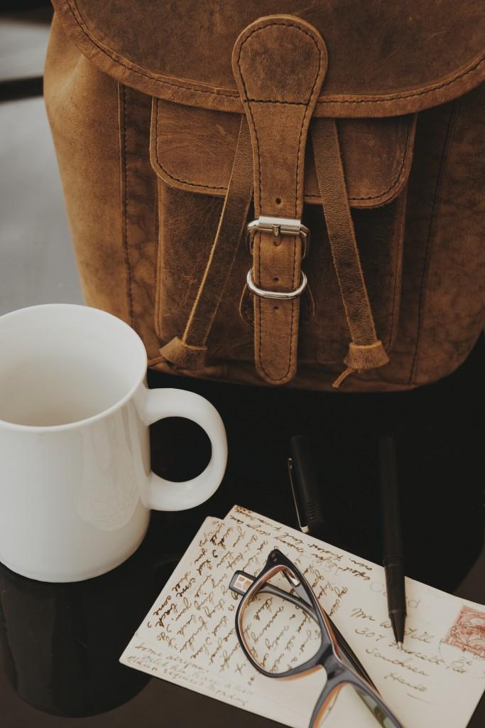 Scaramanga Leather Backpack